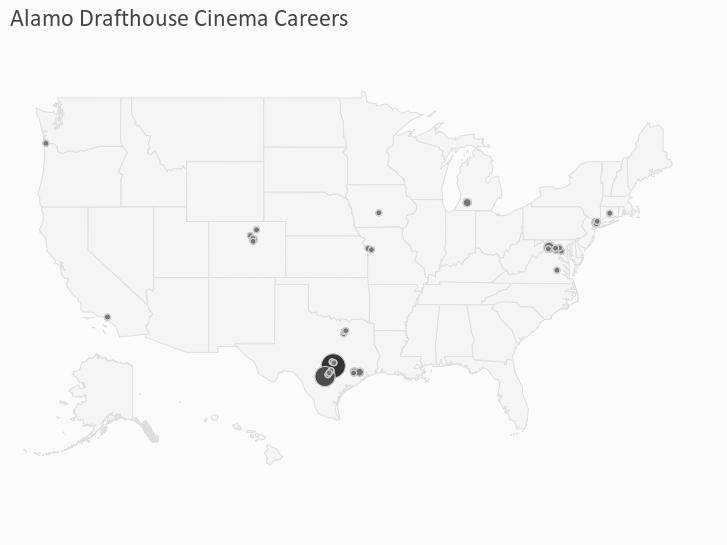 Alamo Drafthouse Cinema Careers