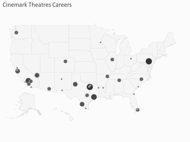 Cinemark Theatres Careers