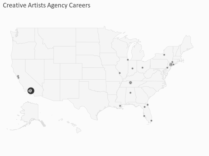 Creative Artists Agency Careers