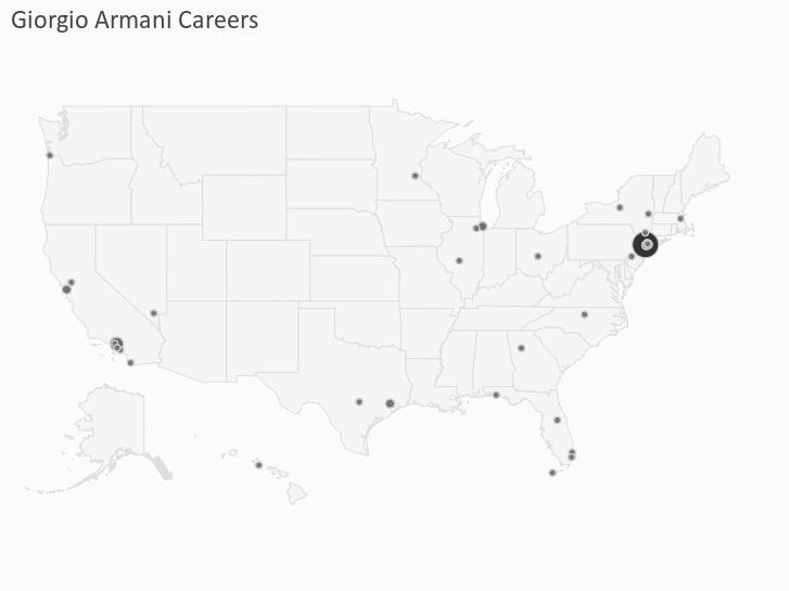 Giorgio Armani Careers