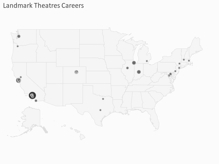 Landmark Theatres Careers