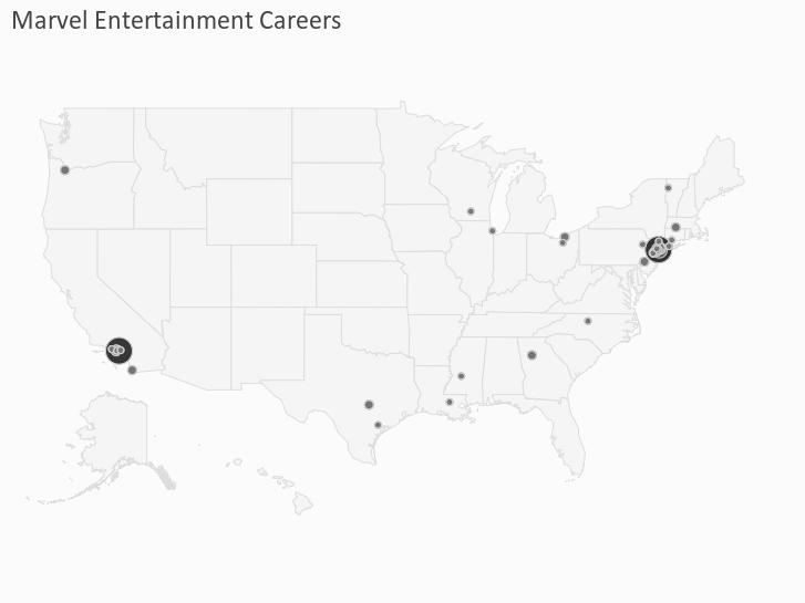 Marvel Entertainment Careers