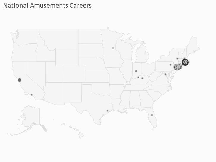 National Amusements Careers