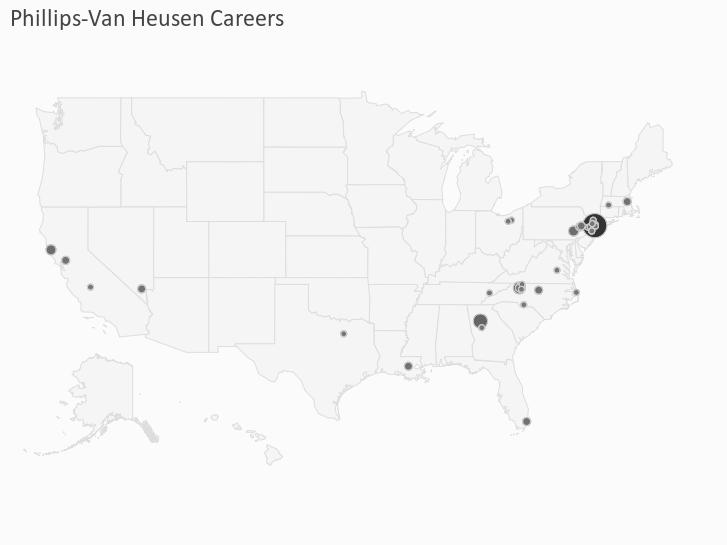 Phillips-Van Heusen Careers