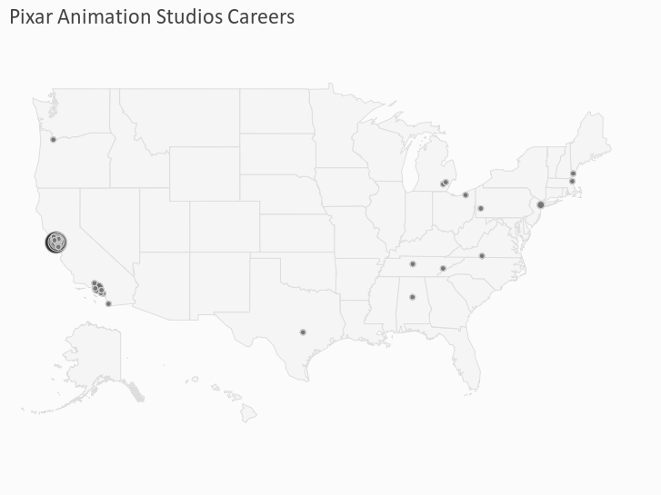 Pixar Animation Studios Careers