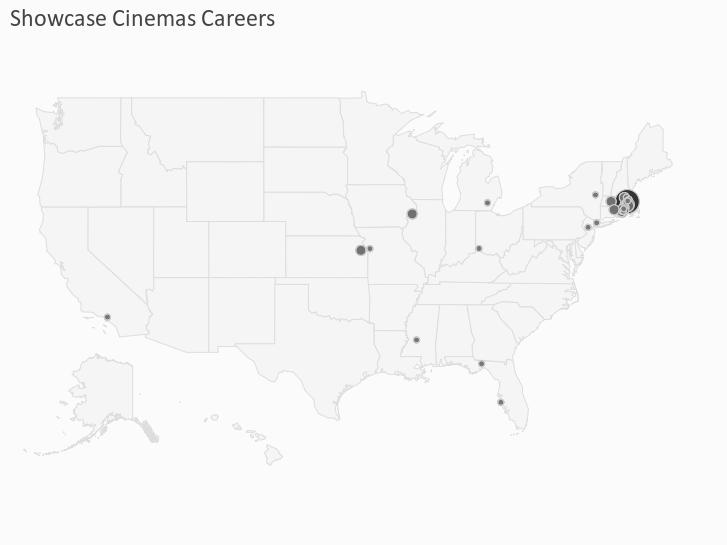 Showcase Cinemas Careers