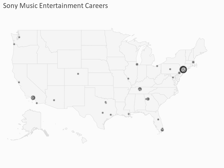 Sony Music Entertainment Careers
