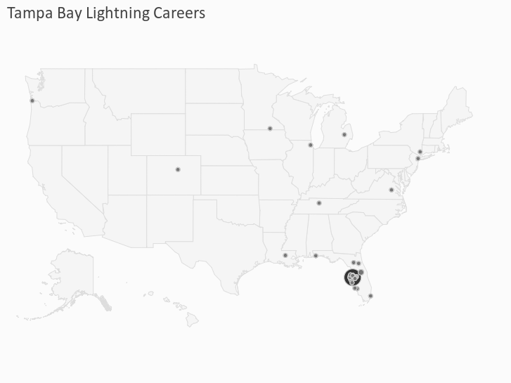 Tampa Bay Lightning Careers